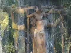 Cool video category bdsm (193 sec). Samantha Crucified.