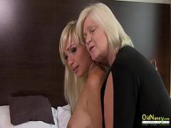Full youtube video category lesbian (493 sec). OldNannY Horny Mature and Hot Teen Lesbian Sex.