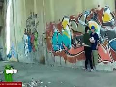 18+ sexual video category big_ass (1532 sec). Take cock in the graffiti tunnel. RAF176.