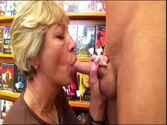 Good stream video category mature (582 sec). Grand Mother Anja hot pussy.