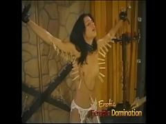 Stars hub video category stockings (397 sec). Beautiful skinny brunette slave learns what BDSM is all about.