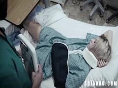 Adult sexual video category teen (397 sec). Sleazy Doctor Trick Fucks 18yo Patient.