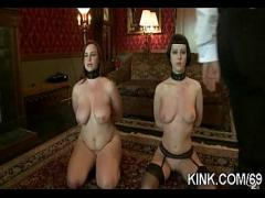 Genial tube video category bdsm (333 sec). Huge tits, submissive housewife, dominated, bound.