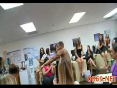 Good erotic category orgy (333 sec). hot young burnette sucks down every.