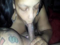 Adult youtube video category blowjob (138 sec). Old thot sucking dick on first night.