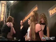 Sexy videotape recording category blowjob (300 sec). Gangbang porn video.