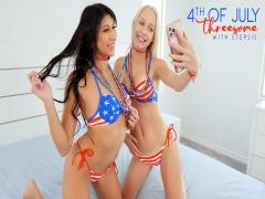 Fourth Of July Threesome With Stepsis -(Braylin Bailey,Penelope Woods)